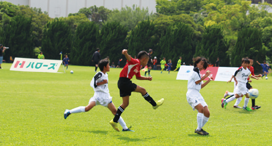 Halows Cup Setouchi Soccer Competition for Youths
